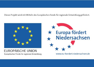 Logo: Eurpa fördert Niedersachsen
